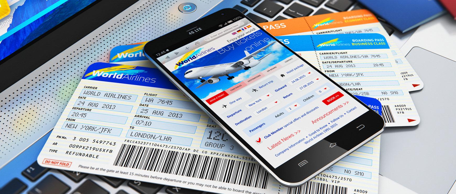 flight information on digital devices