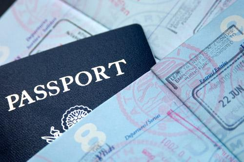 international travel passport books